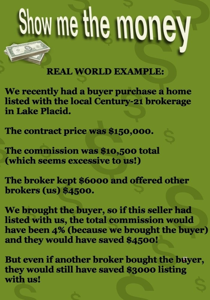 Real Commission Savings Example
